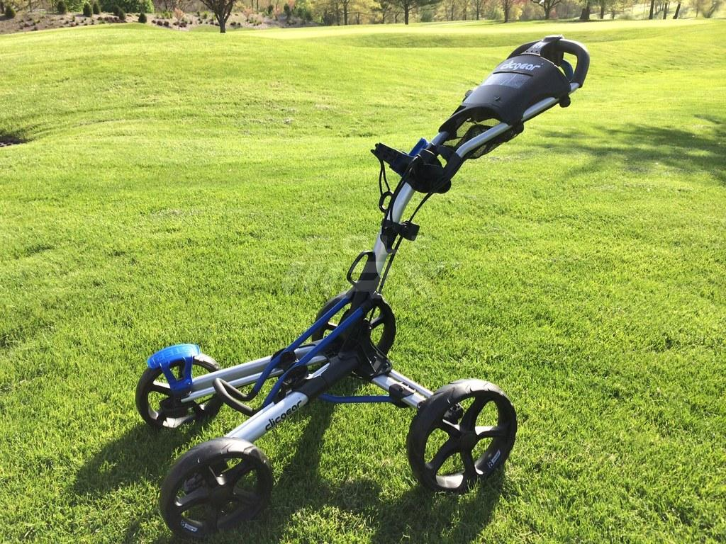 Clicgear Model 8 0 Four Wheel Carts Review Discount Golf